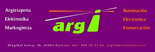 ARGI  -  Argiztapena, elektronika eta markogintza